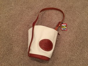 Outfitter's Supply's canvas/leather feedbag