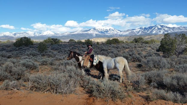 Me, Ranger, and Reno, south of Moab, Utah